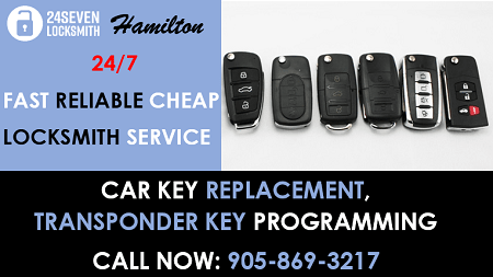 24/7 Car Door Lockout Hamilton ON - 24 Seven Locksmith